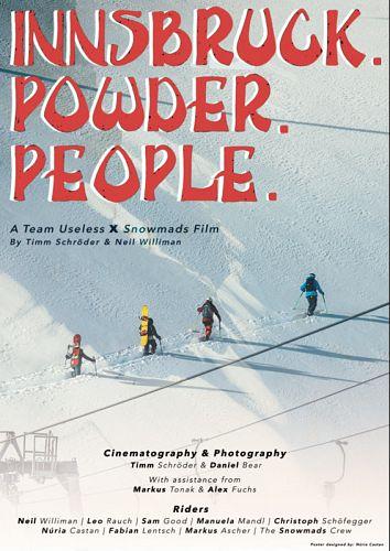 Innsbruck. Powder. People.
