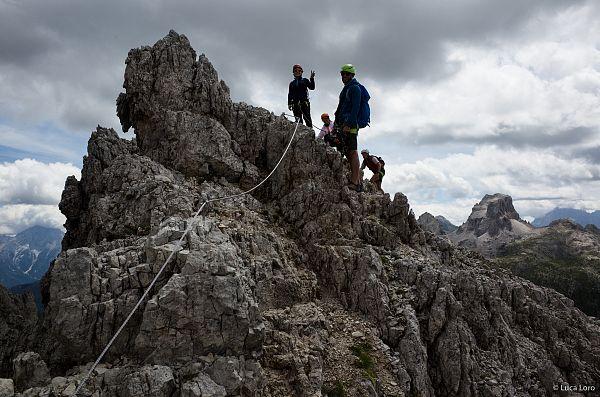 Klettersteig Drei Zinnen : Drei zinnen klettersteig paternkofel dolomiten felix meyer